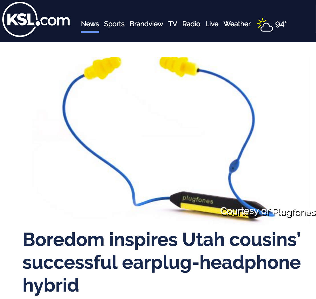 Plugfones on KSL.com & Good4Utah.com!